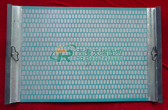 hook strip flat square shaker screen